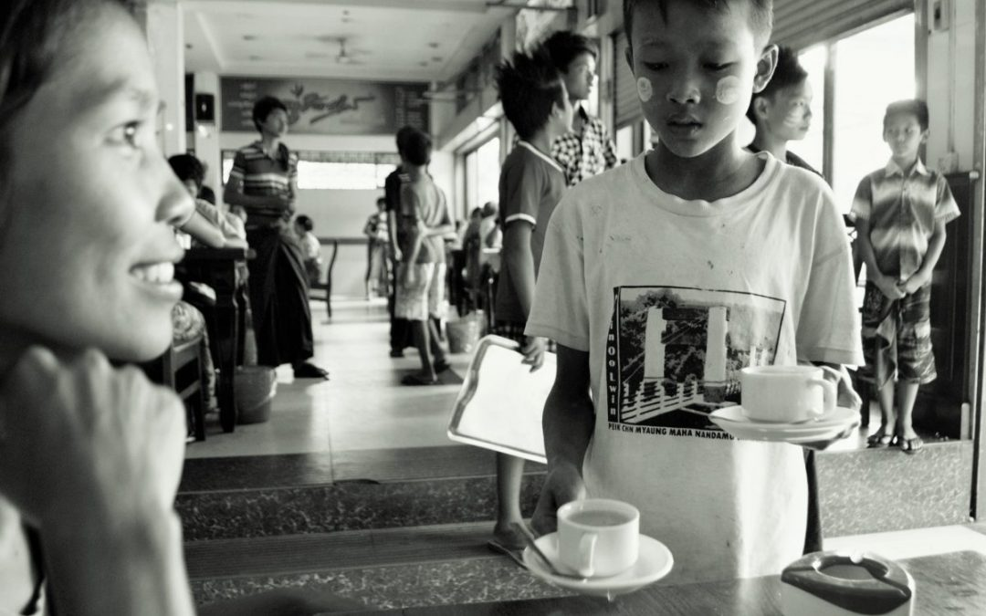 Child labor: Gray areas in Myanmar