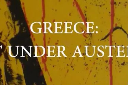 Greece: Art under austerity