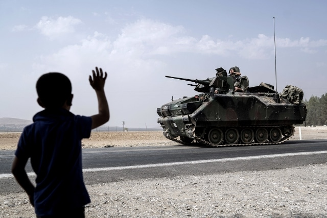 Turkey's move against Kurds alters conflict in Syria