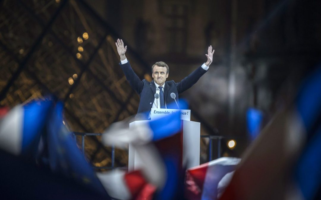 France's Macron: Europe is relieved, for now
