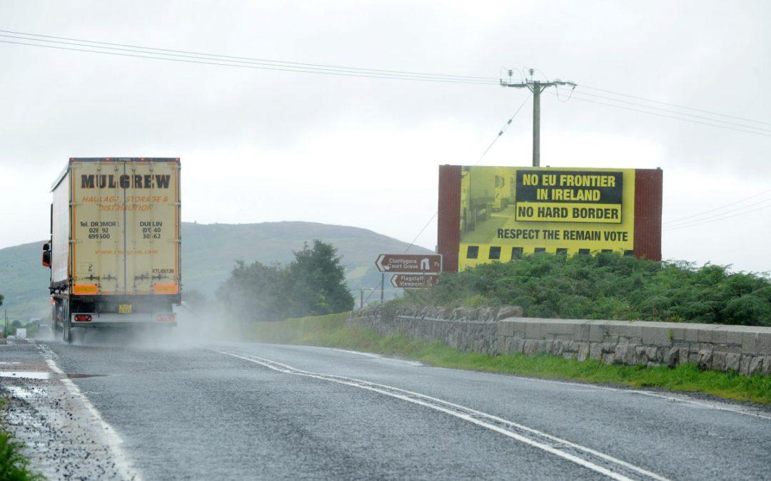 Irish border presents major obstacle in Brexit talks
