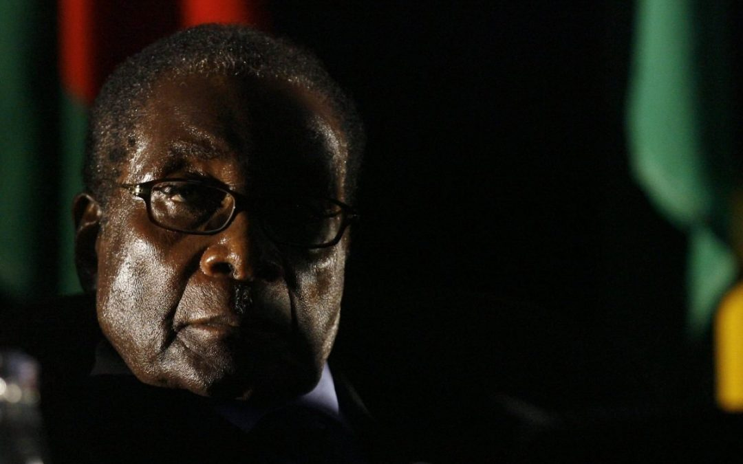 In the end, Zimbabwe's Mugabe had to blink