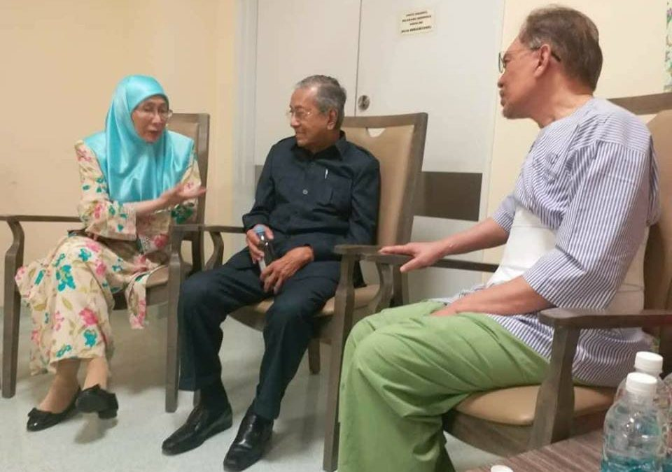 Malaysia miracle as Mahathir, Anwar reunite