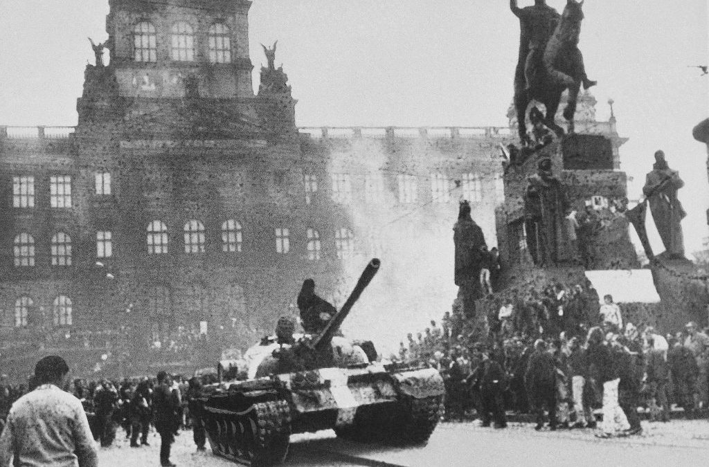 Prague, 1968: A knock on the door, tanks in the street