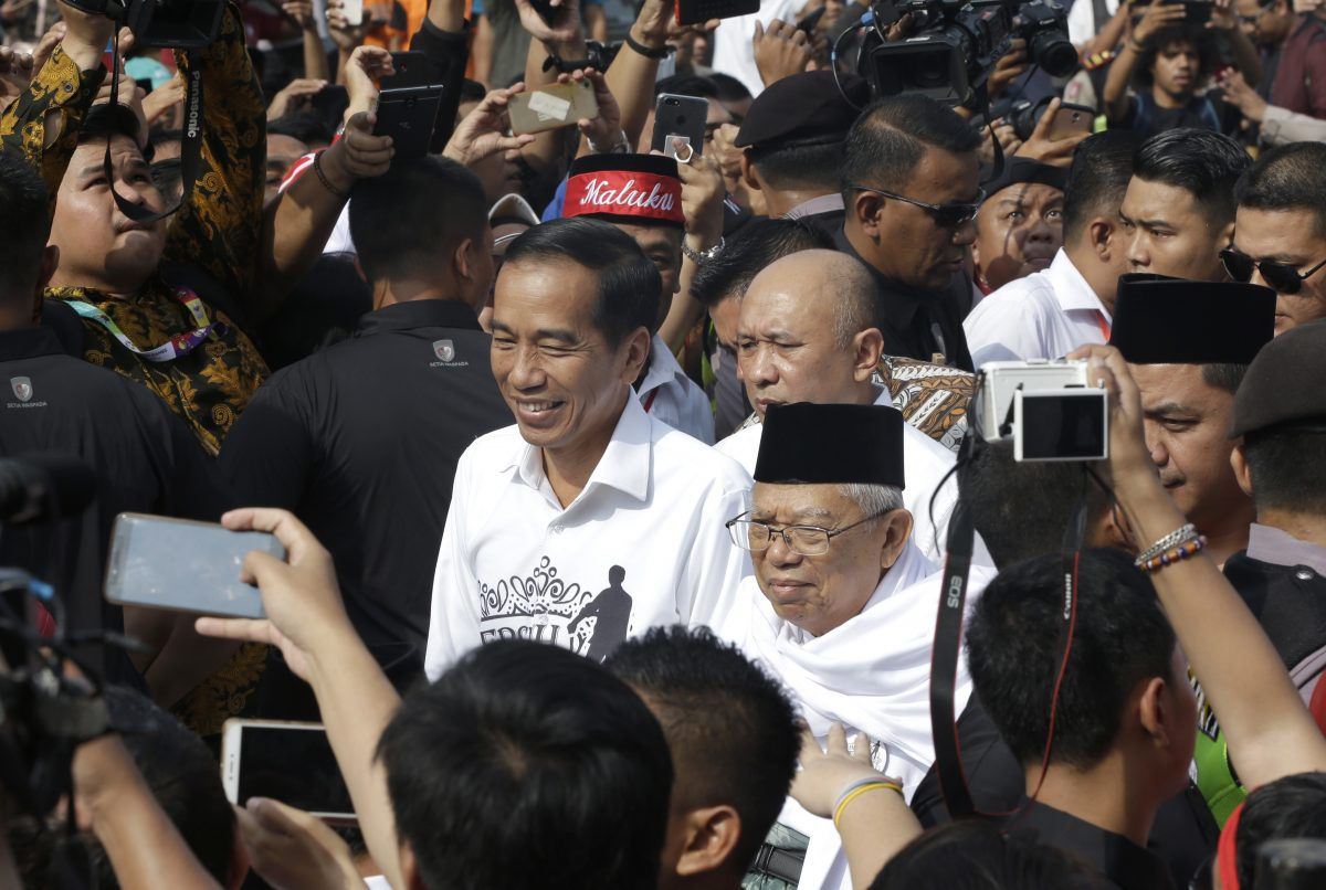 'Thin man' and elderly cleric en route to lead Indonesia