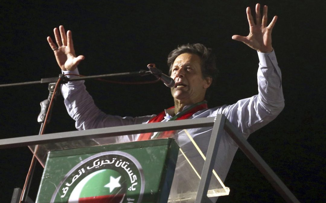 Imran Khan confronted by realities of power in Pakistan