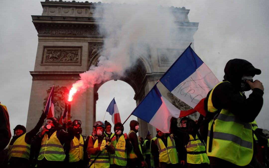Yellow vest protests rattle France — and Europe