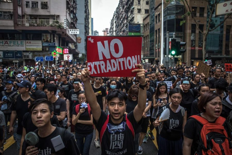 In Hong Kong, young protesters return with a vengeance