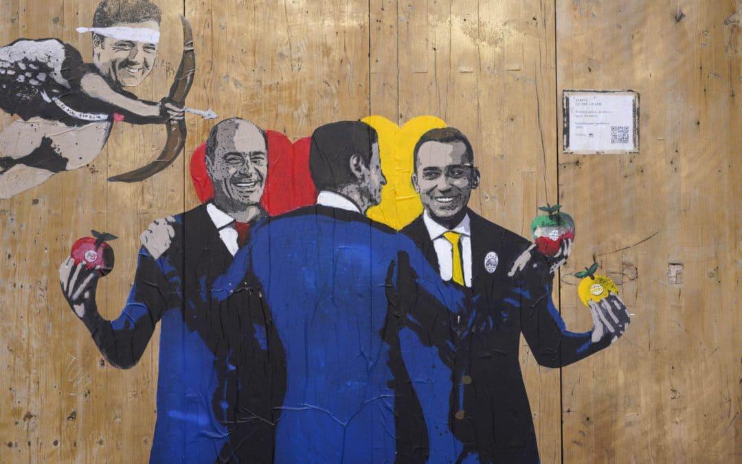 Italy bucks populism but egos weaken government