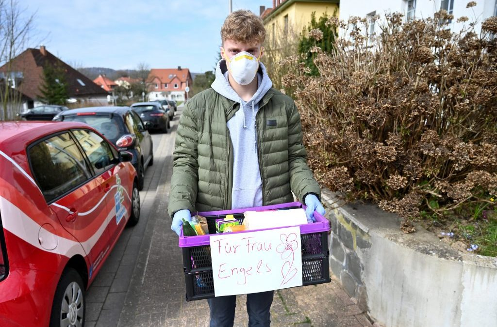 Young people take action against COVID-19