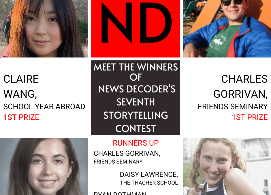 Different twists on COVID-19 win News Decoder contest