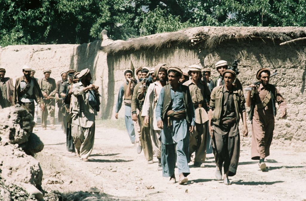 Walking with the mujahideen in Afghanistan