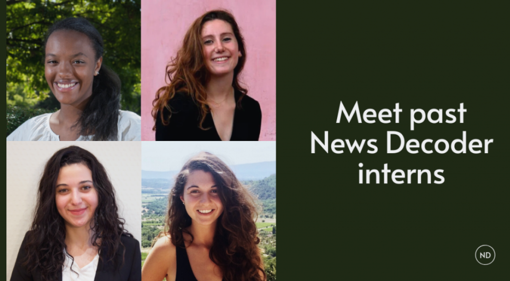 News Decoder interns: Spreading insight and amity