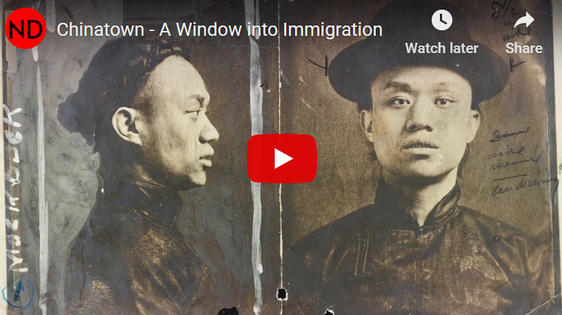 Chinatown offered me a window into immigration