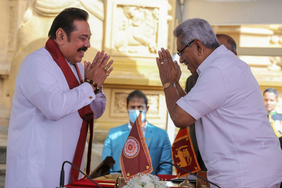 Political dynasty stirs worries in strategic Sri Lanka