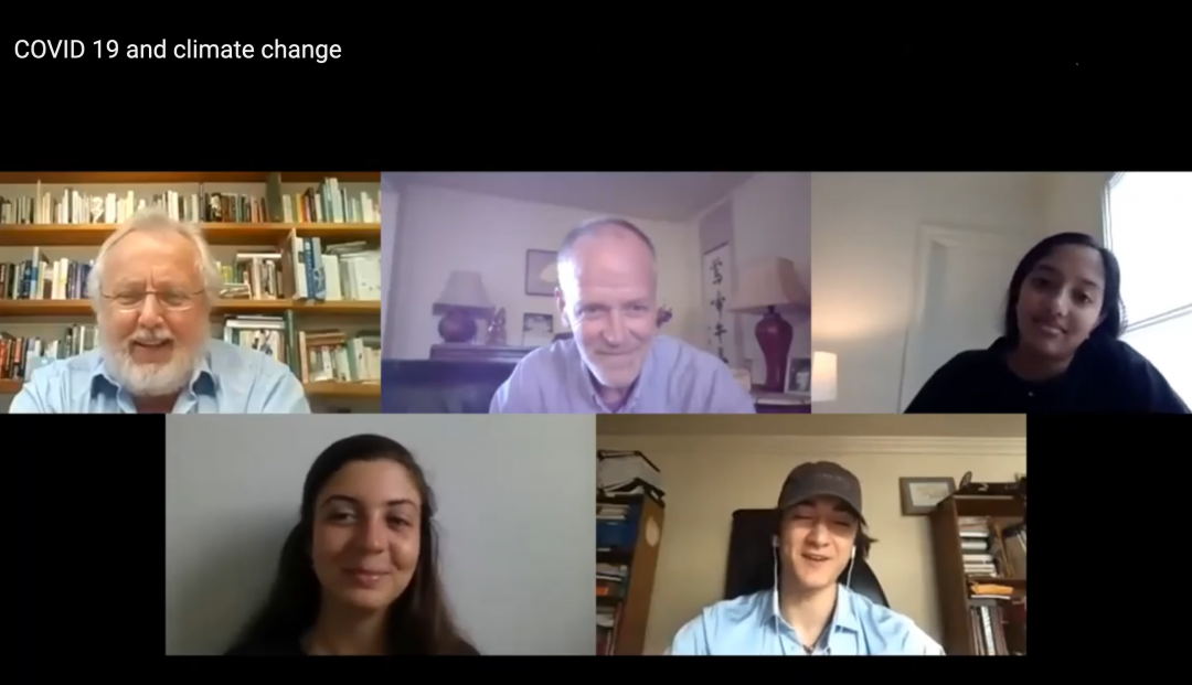 Will COVID-19 help the fight against climate change?