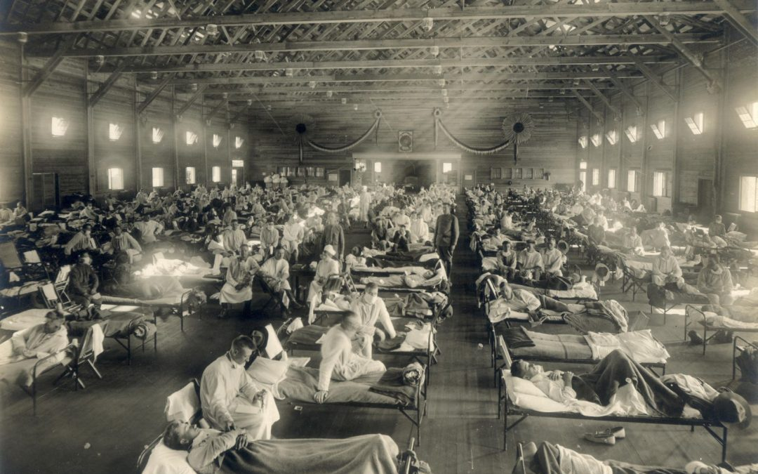 COVID-19 and 1918 flu pandemic share much in common