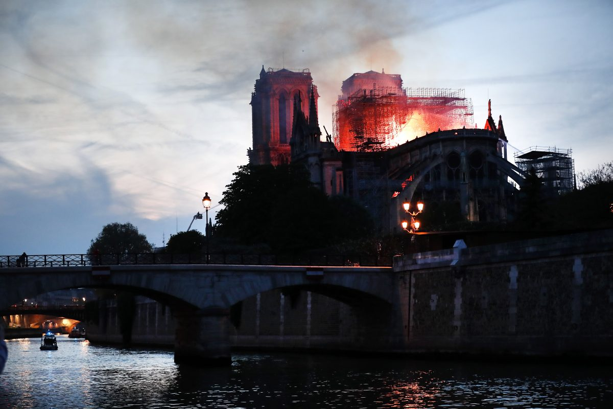 Notre-Dame,fire,France