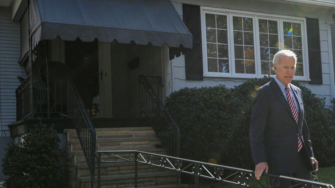 Joe Biden,school,caring leader
