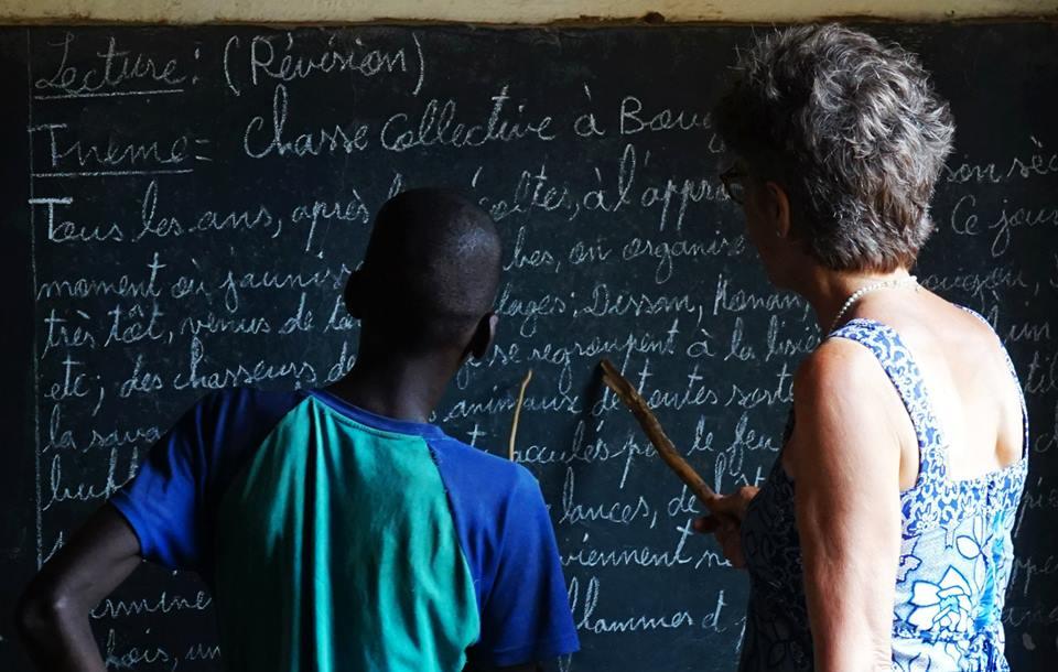 Mali Nyeta and building schools Progress in Africa24