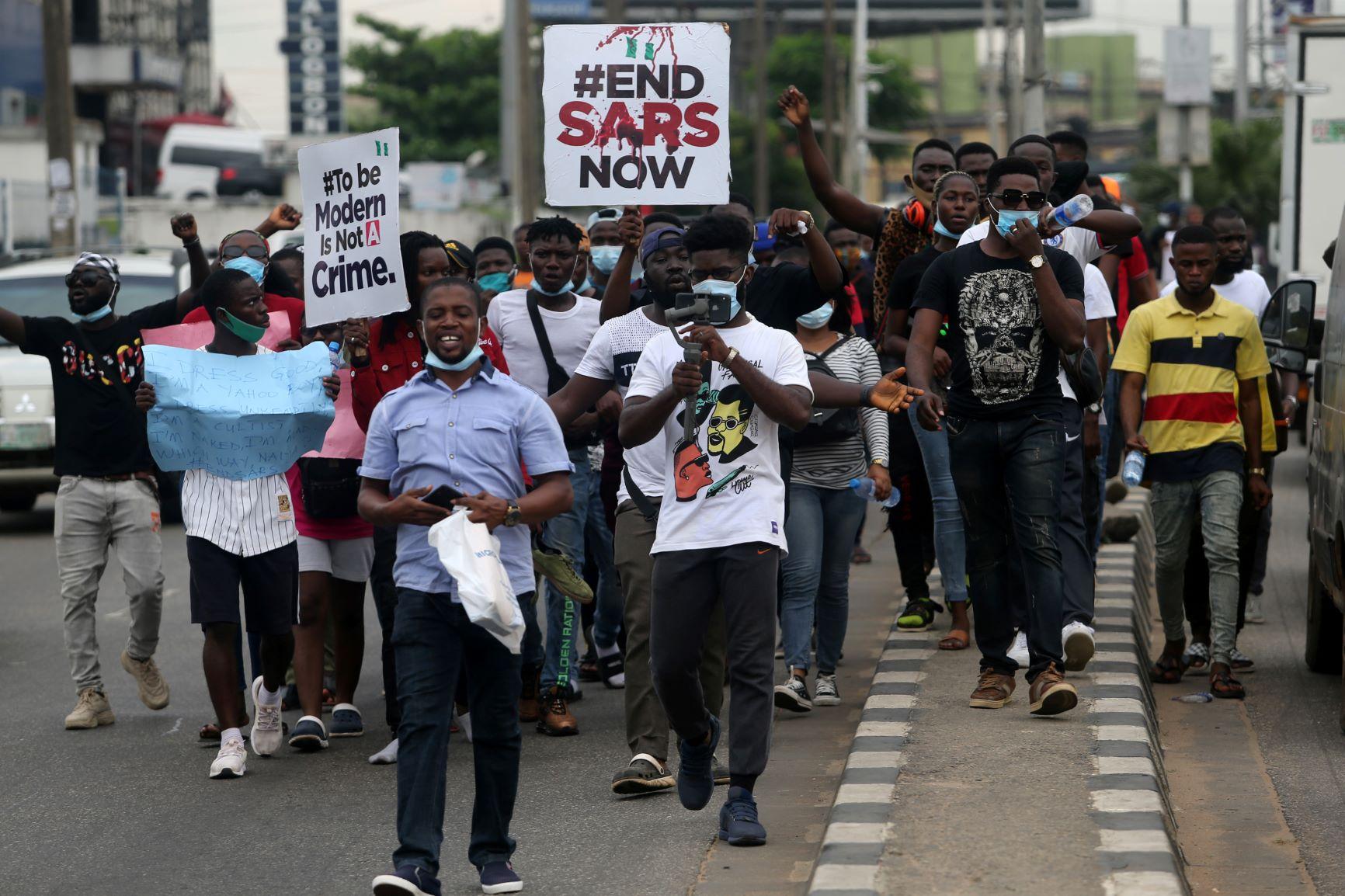 Nigeria,police brutality,youth