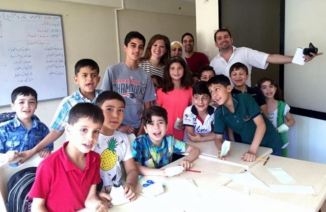 Syrian children,inspiration