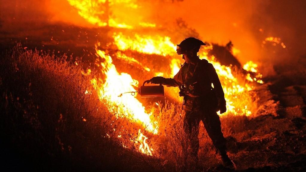 wildfires,media