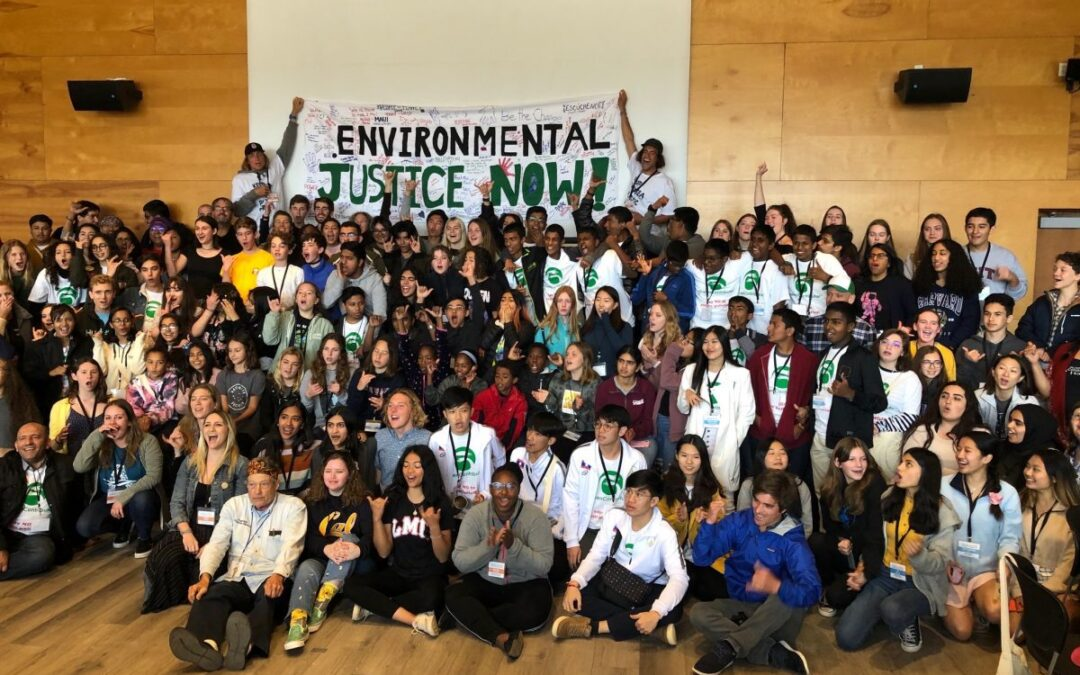 Youth 'warriors' tackle noxious plastic pollution