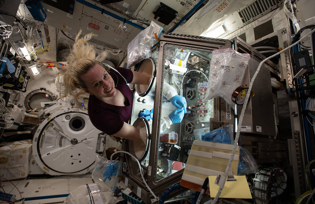 International space station benefits those of us on Earth