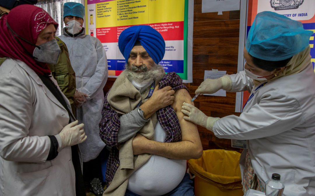 India sets example with massive COVID-19 vaccination program