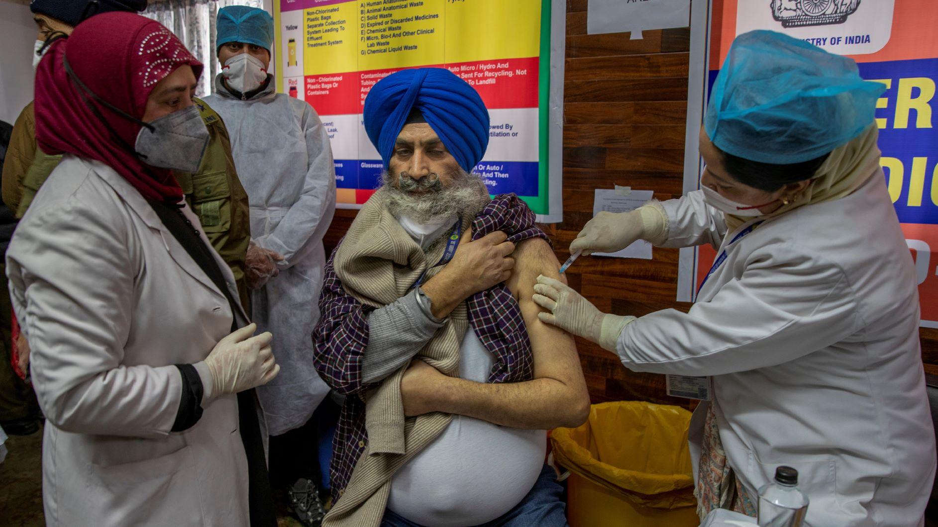 India,COVID-19,vaccination program