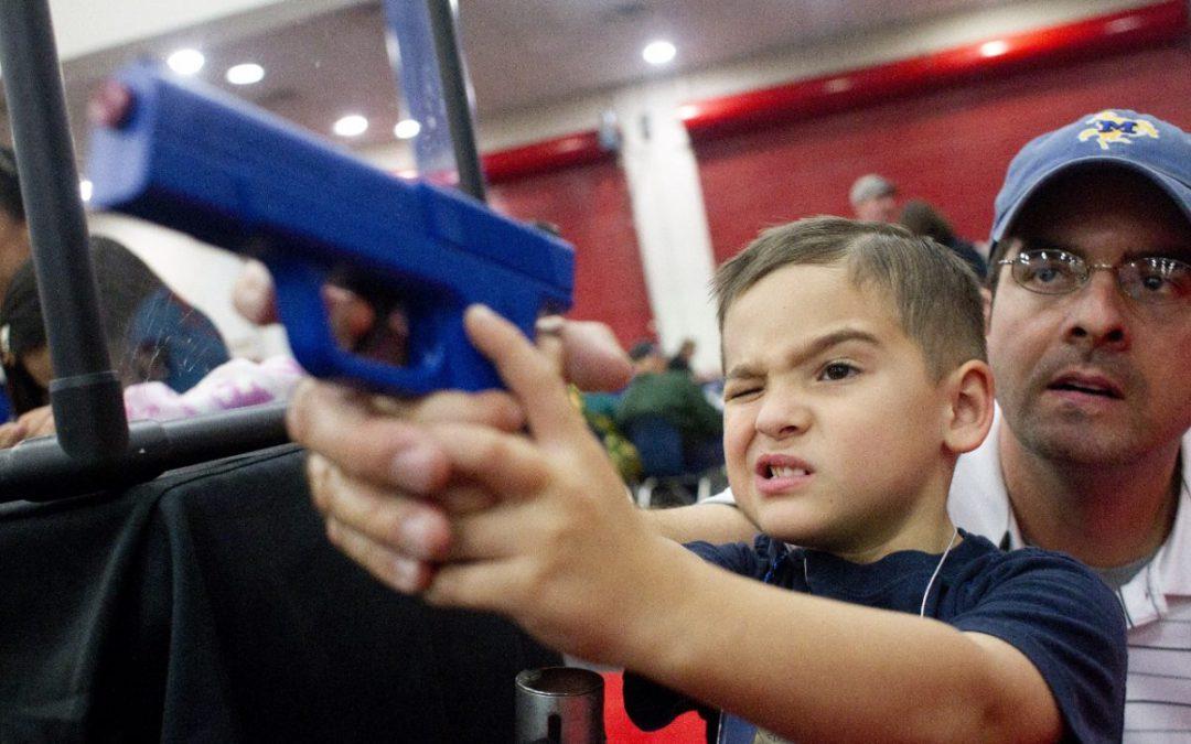 Guns in America's election campaign