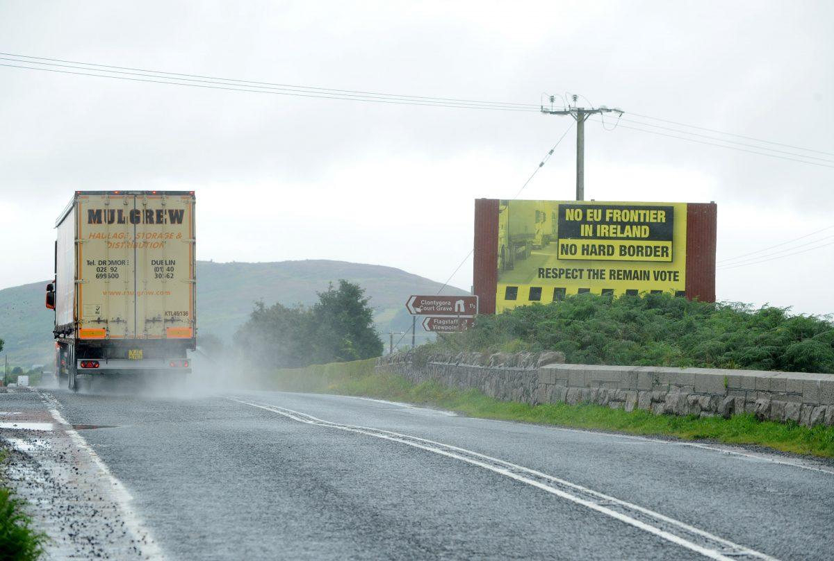 Irish border,Brexit