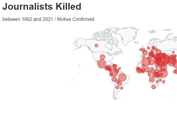 Journalists under threat on World Press Freedom Day