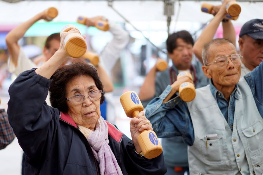 The world is struggling to manage its aging population
