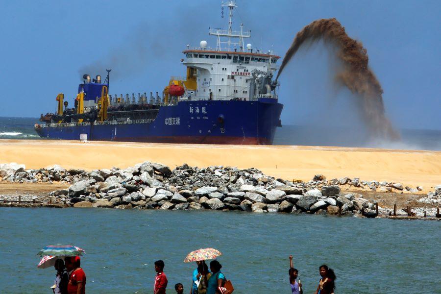 China investment in Sri Lanka raises eyebrows in U.S., India